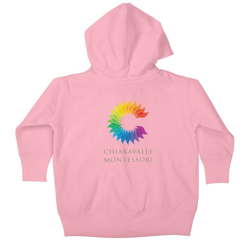 Chiaravalle Montessori - Light Kids Baby Zip-Up Hoody by Chiaravalle Montessori Spirit Shop