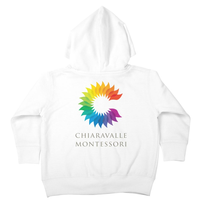 Chiaravalle Montessori - Light Kids Toddler Zip-Up Hoody by Chiaravalle Montessori Spirit Shop