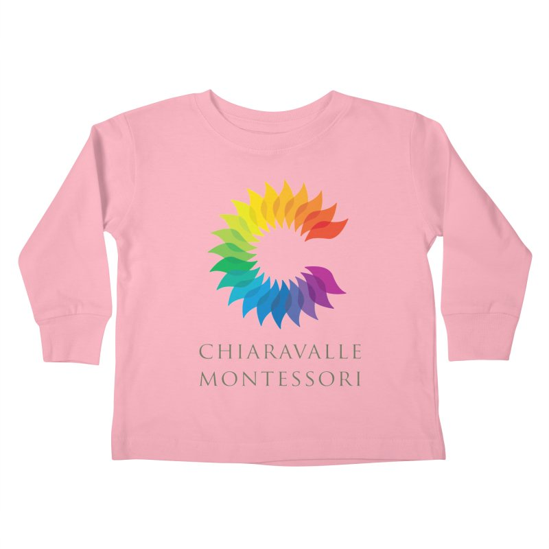 Chiaravalle Montessori - Light Kids Toddler Longsleeve T-Shirt by Chiaravalle Montessori Spirit Shop