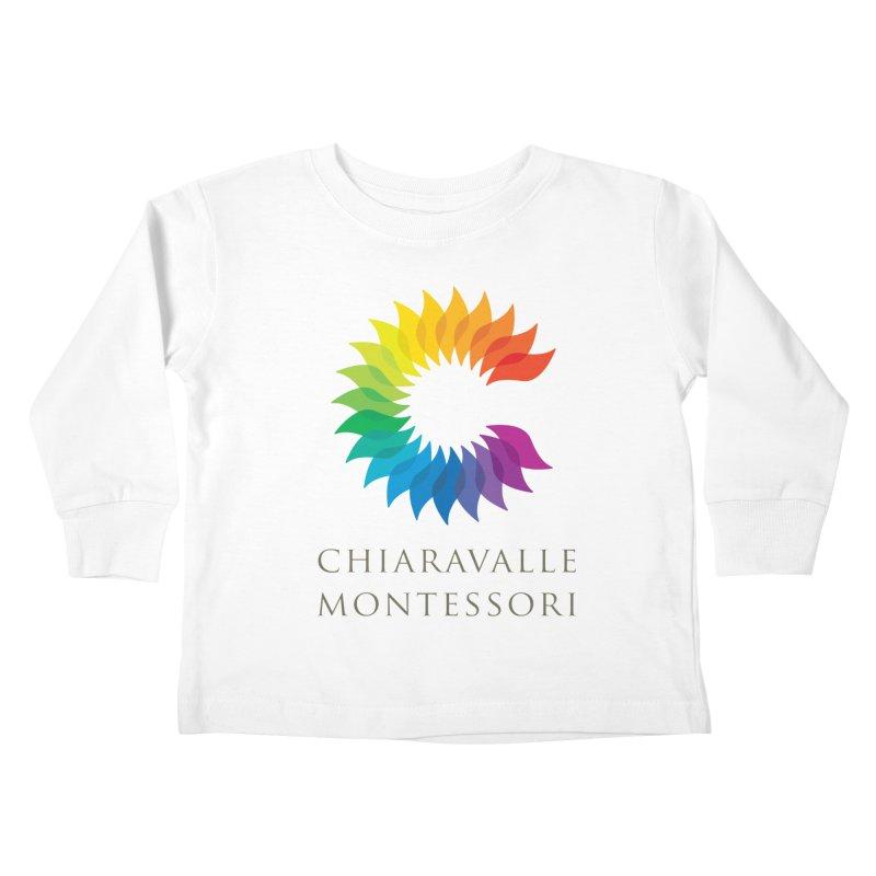 Chiaravalle Montessori - Light Kids Toddler Longsleeve T-Shirt by Chiaravalle Montessori Spirit Shop