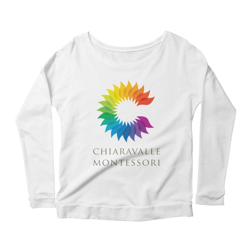 Chiaravalle Montessori - Light Women's Longsleeve Scoopneck  by Chiaravalle Montessori Spirit Shop