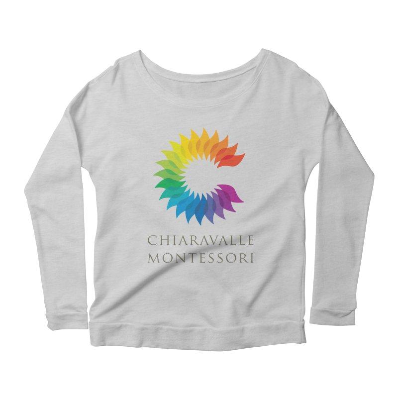Chiaravalle Montessori - Light Women's Scoop Neck Longsleeve T-Shirt by Chiaravalle Montessori Spirit Shop