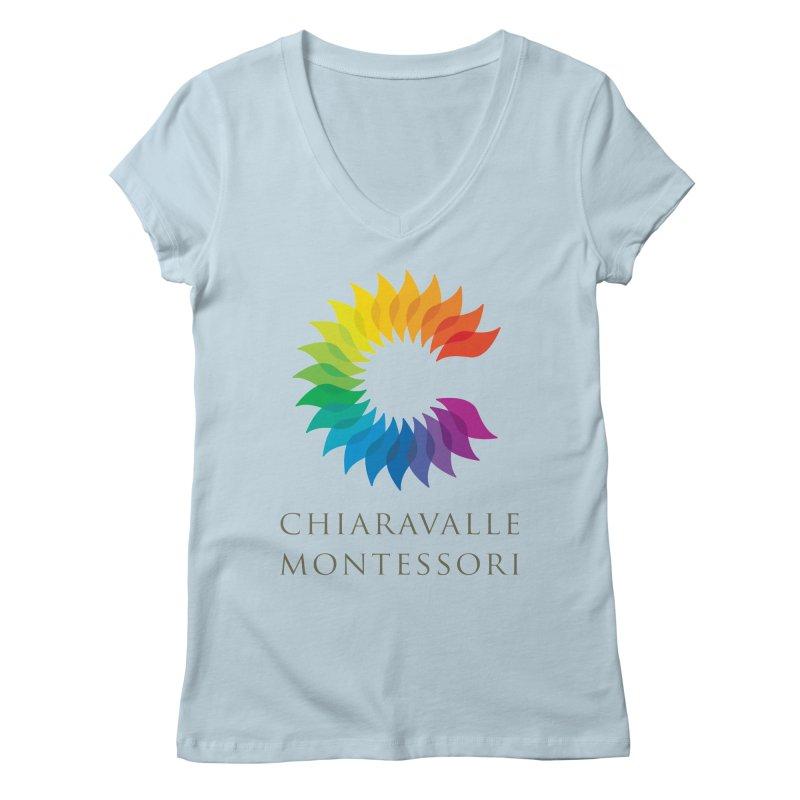 Chiaravalle Montessori - Light Women's V-Neck by Chiaravalle Montessori Spirit Shop