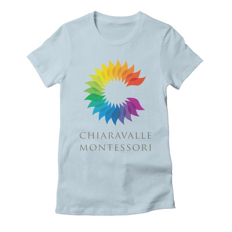 Chiaravalle Montessori - Light Women's Fitted T-Shirt by Chiaravalle Montessori Spirit Shop