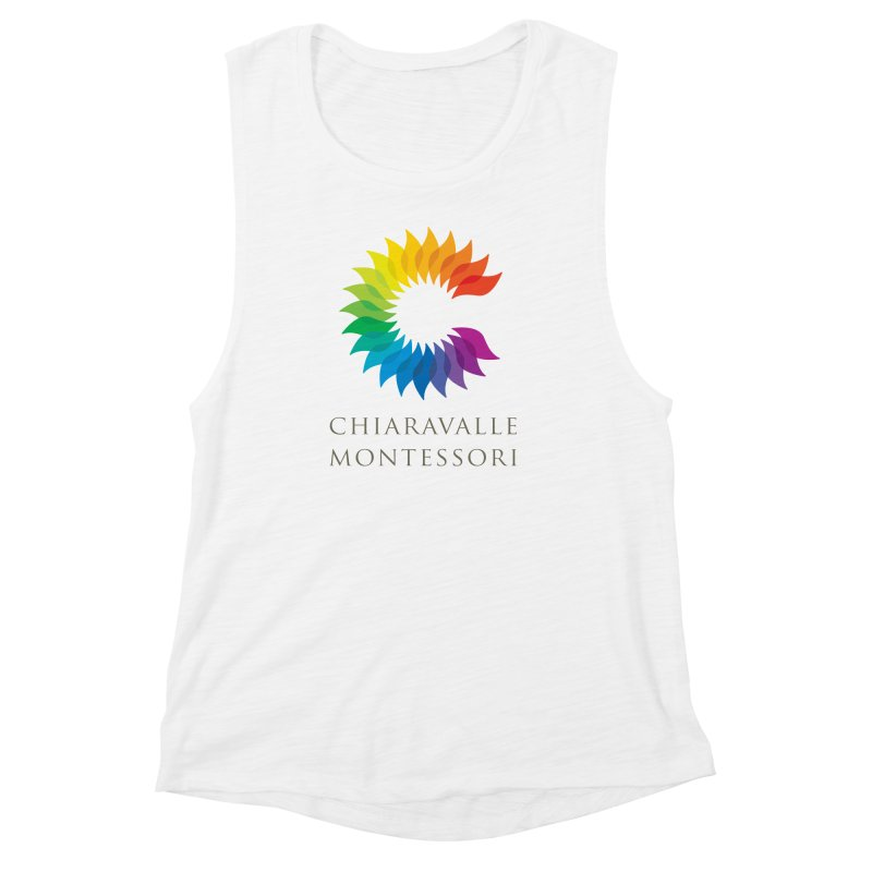 Chiaravalle Montessori - Light Women's Muscle Tank by Chiaravalle Montessori Spirit Shop