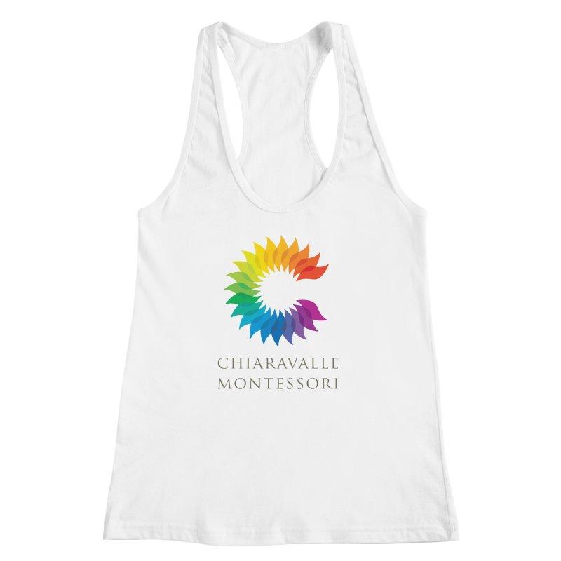 Chiaravalle Montessori - Light Women's Racerback Tank by Chiaravalle Montessori Spirit Shop