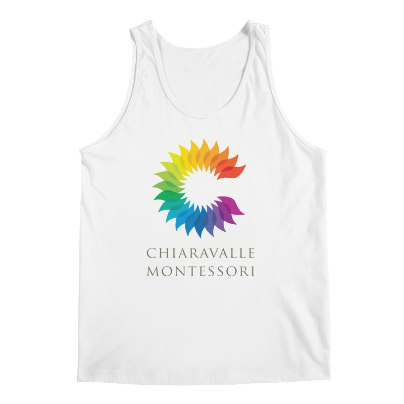 Chiaravalle Montessori - Light Men's Regular Tank by Chiaravalle Montessori Spirit Shop