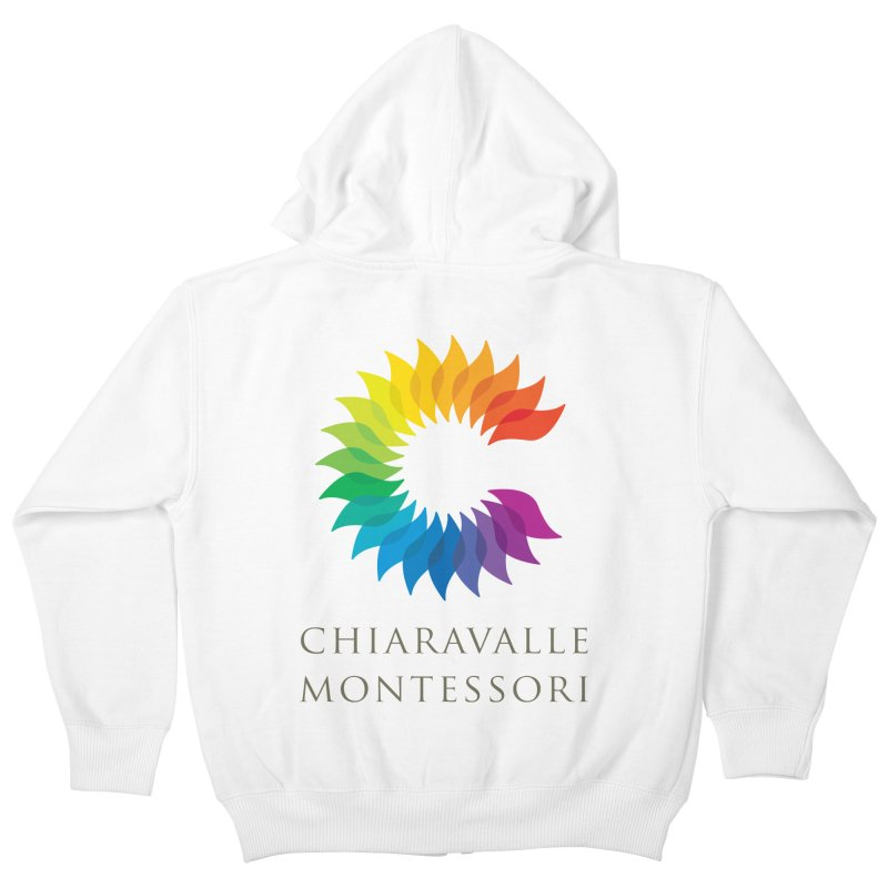 Chiaravalle Montessori - Light Kids Zip-Up Hoody by Chiaravalle Montessori Spirit Shop