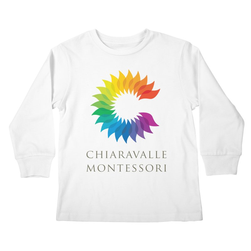 Chiaravalle Montessori - Light Kids Longsleeve T-Shirt by Chiaravalle Montessori Spirit Shop