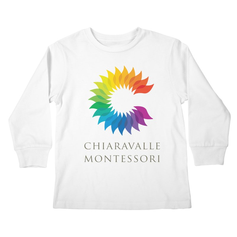 Chiaravalle Montessori - Light Kids Longsleeve T-Shirt by Chiaravalle Montessori Spirit Shop