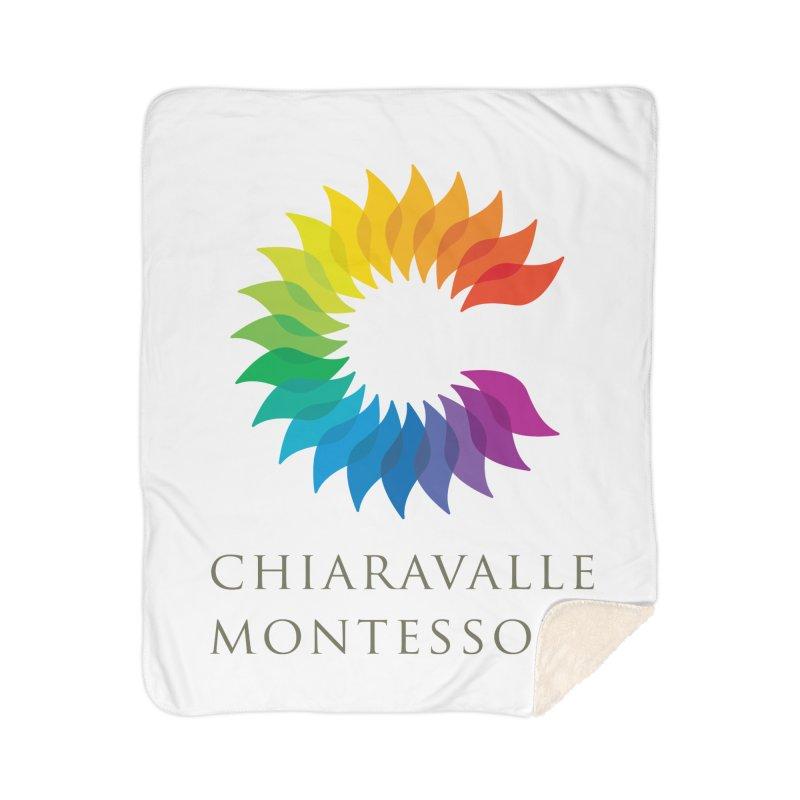 Chiaravalle Montessori - Light Home Sherpa Blanket Blanket by Chiaravalle Montessori Spirit Shop