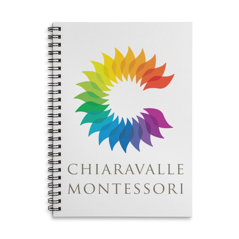 Chiaravalle Montessori - Light Accessories Lined Spiral Notebook by Chiaravalle Montessori Spirit Shop
