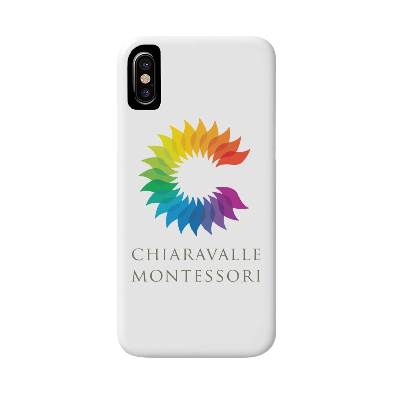 Chiaravalle Montessori - Light Accessories Phone Case by Chiaravalle Montessori Spirit Shop
