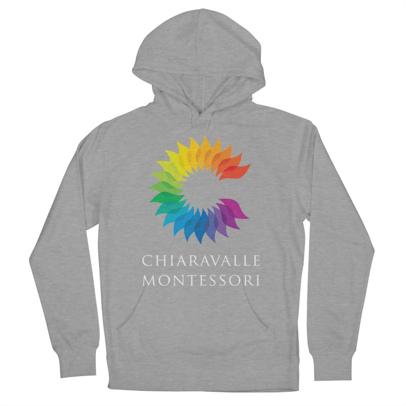 Chiaravalle Montessori - Dark Men's French Terry Pullover Hoody by Chiaravalle Montessori Spirit Shop
