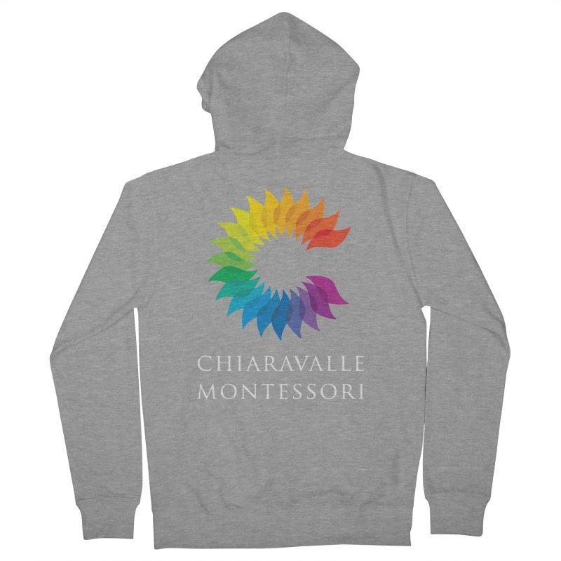 Chiaravalle Montessori - Dark Men's Zip-Up Hoody by Chiaravalle Montessori Spirit Shop