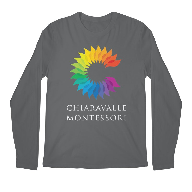 Chiaravalle Montessori - Dark Men's Longsleeve T-Shirt by Chiaravalle Montessori Spirit Shop