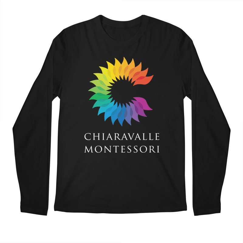 Chiaravalle Montessori - Dark Men's Regular Longsleeve T-Shirt by Chiaravalle Montessori Spirit Shop