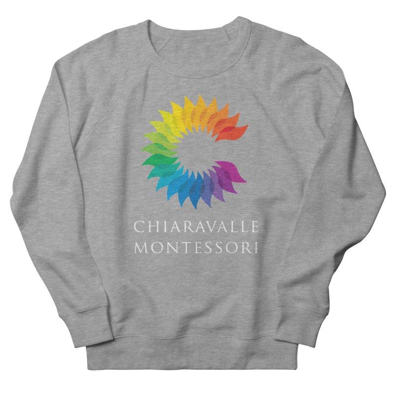 Chiaravalle Montessori - Dark Men's French Terry Sweatshirt by Chiaravalle Montessori Spirit Shop