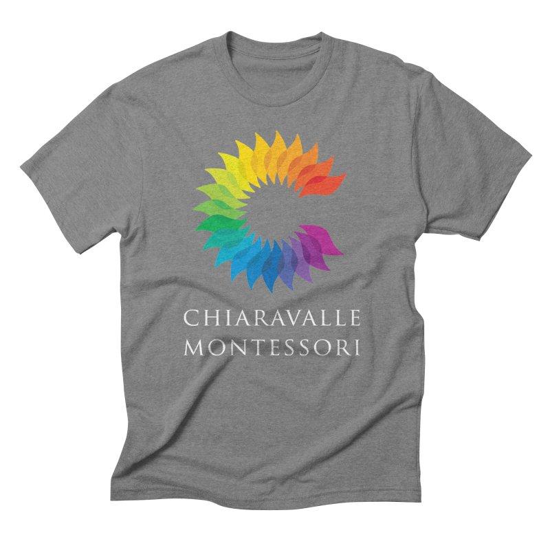 Chiaravalle Montessori - Dark Men's Triblend T-Shirt by Chiaravalle Montessori Spirit Shop