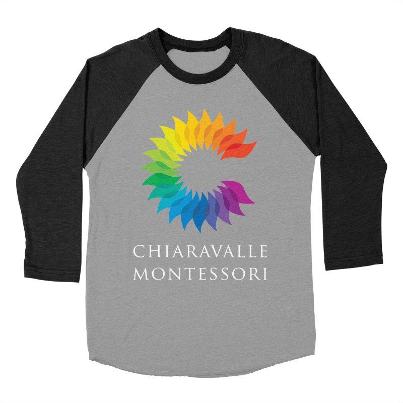 Chiaravalle Montessori - Dark Men's Baseball Triblend T-Shirt by Chiaravalle Montessori Spirit Shop