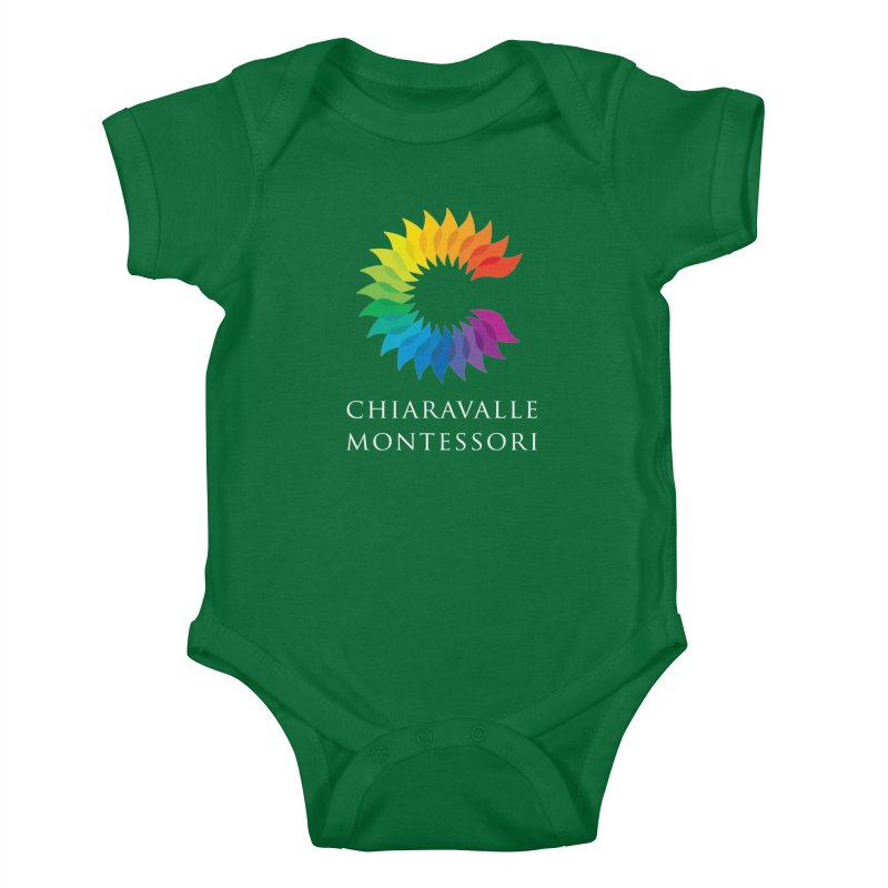 Chiaravalle Montessori - Dark Kids Baby Bodysuit by Chiaravalle Montessori Spirit Shop