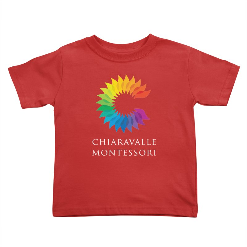 Chiaravalle Montessori - Dark Kids Toddler T-Shirt by Chiaravalle Montessori Spirit Shop