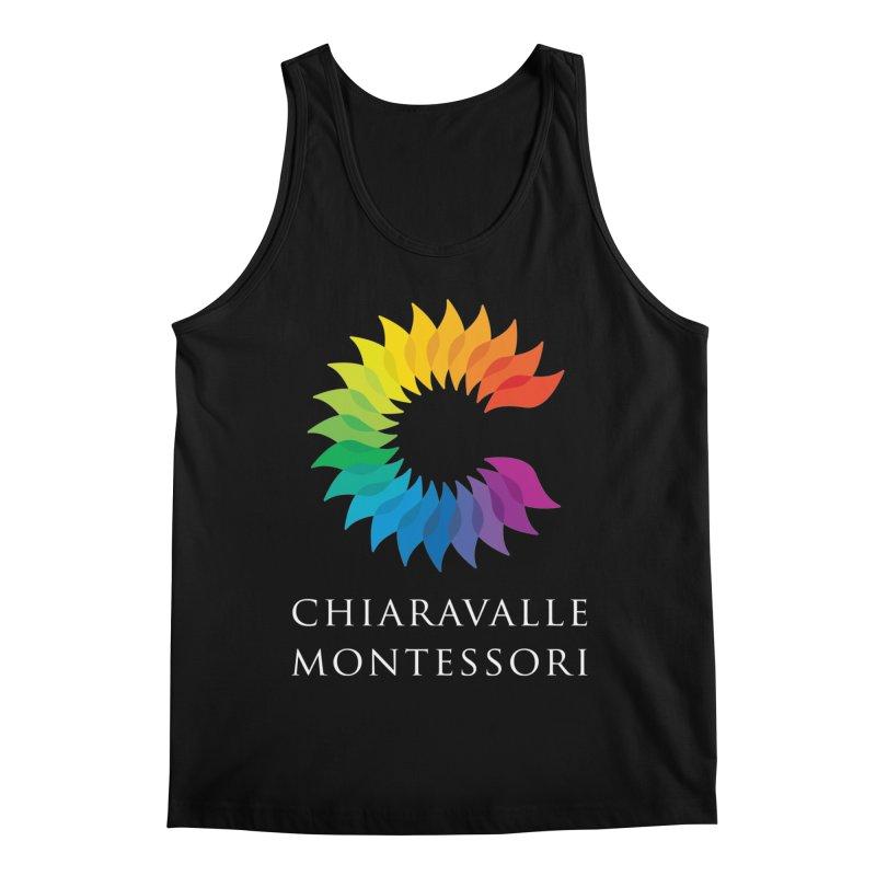 Chiaravalle Montessori - Dark Men's Regular Tank by Chiaravalle Montessori Spirit Shop