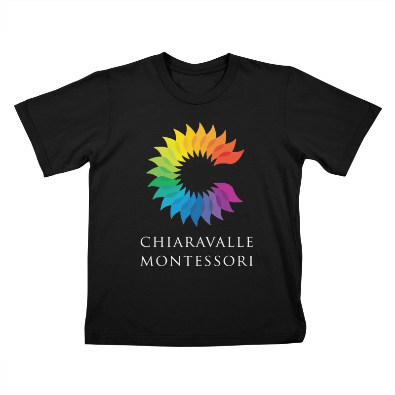 Chiaravalle Montessori - Dark Kids T-Shirt by Chiaravalle Montessori Spirit Shop