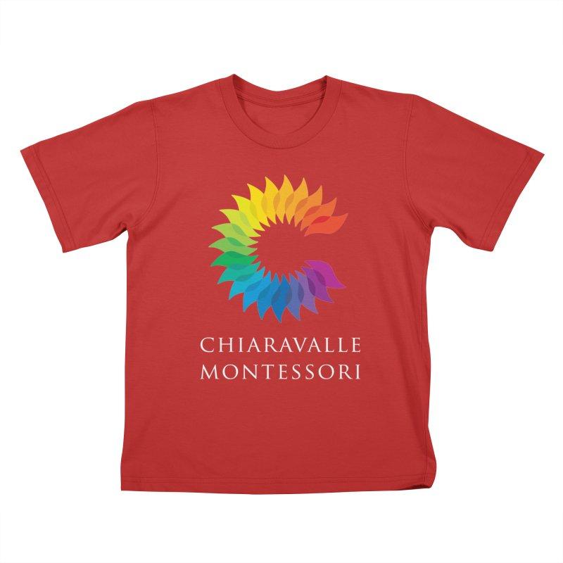 Chiaravalle Montessori - Dark Kids T-Shirt by Chiaravalle Montessori Spirit Shop