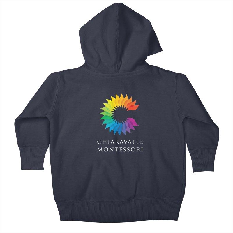Chiaravalle Montessori - Dark Kids Baby Zip-Up Hoody by Chiaravalle Montessori Spirit Shop