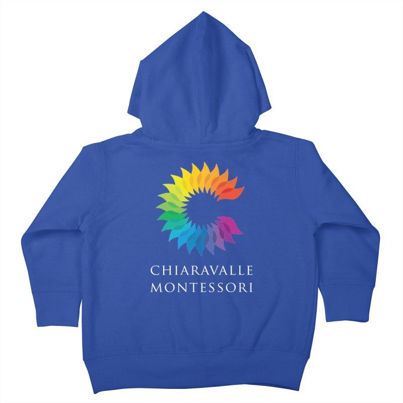 Chiaravalle Montessori - Dark Kids Toddler Zip-Up Hoody by Chiaravalle Montessori Spirit Shop