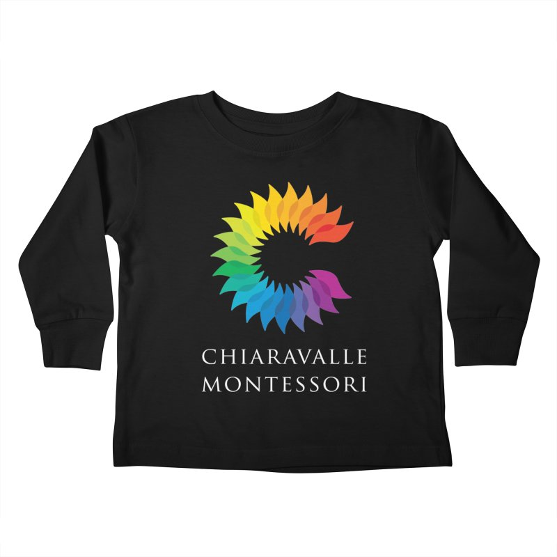 Chiaravalle Montessori - Dark Kids Toddler Longsleeve T-Shirt by Chiaravalle Montessori Spirit Shop
