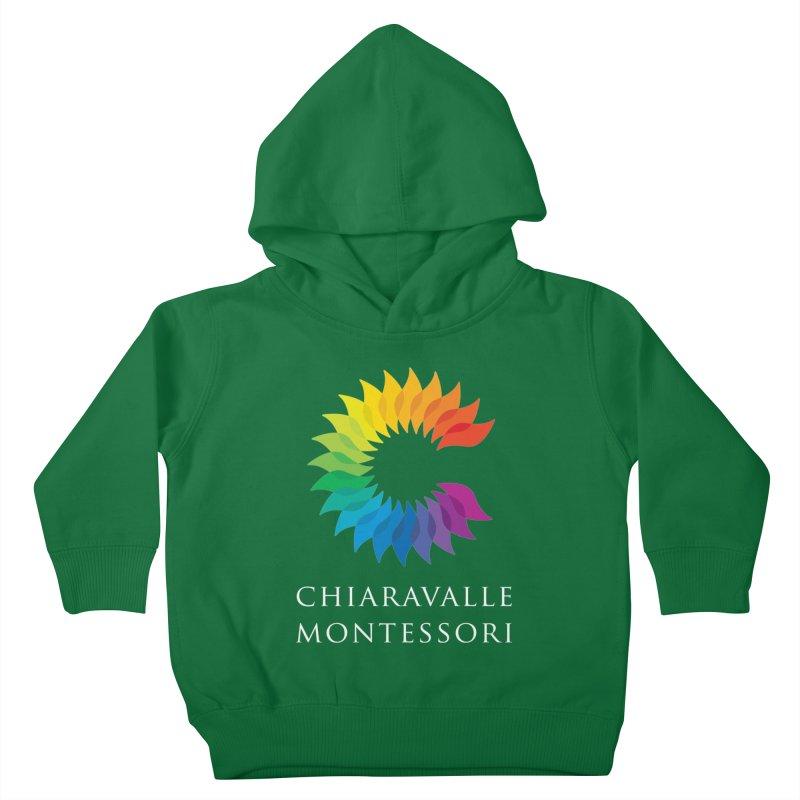 Chiaravalle Montessori - Dark Kids Toddler Pullover Hoody by Chiaravalle Montessori Spirit Shop