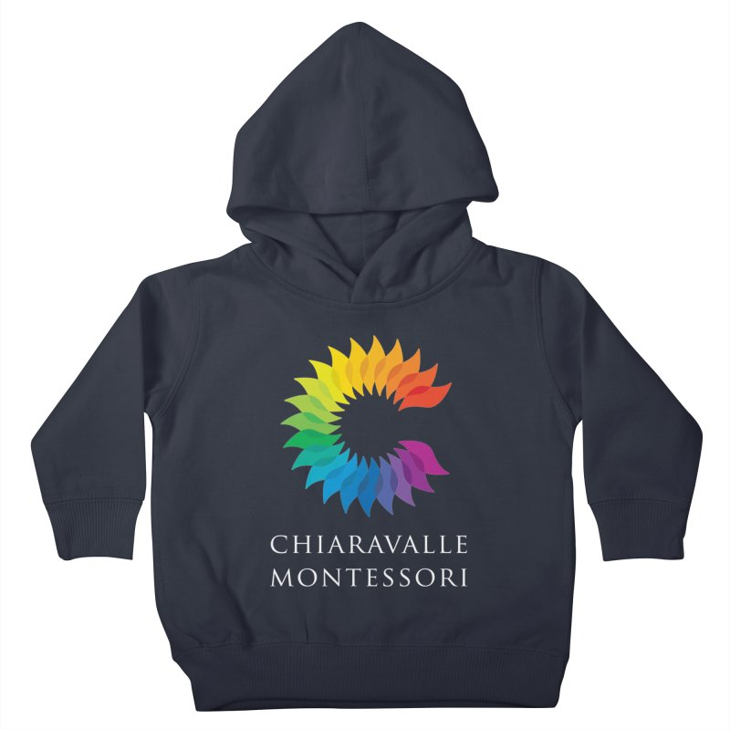 Chiaravalle Montessori - Dark Kids Toddler Pullover Hoody by Chiaravalle Montessori Spirit Shop