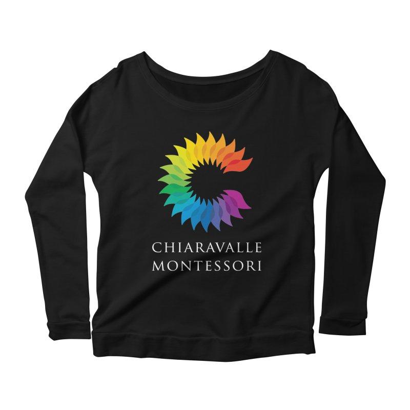 Chiaravalle Montessori - Dark Women's Longsleeve Scoopneck  by Chiaravalle Montessori Spirit Shop