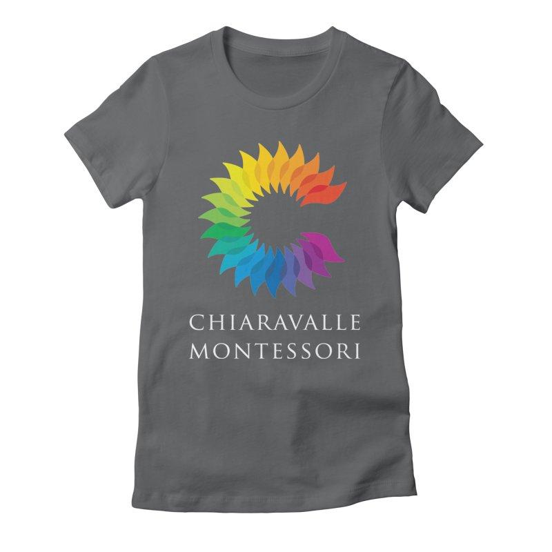 Chiaravalle Montessori - Dark Women's Fitted T-Shirt by Chiaravalle Montessori Spirit Shop