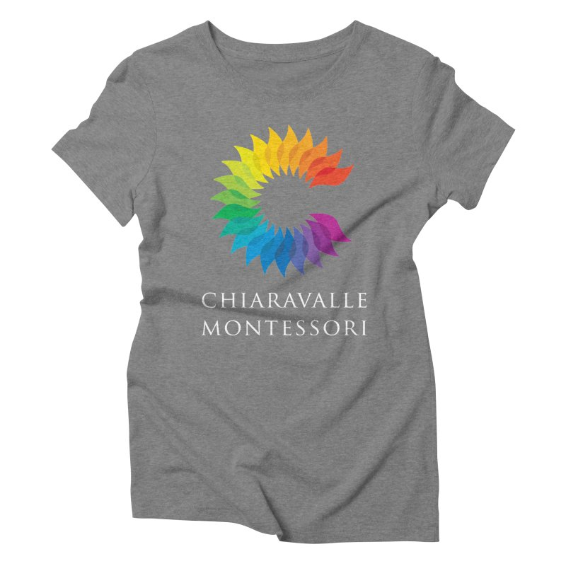 Chiaravalle Montessori - Dark Women's Triblend T-shirt by Chiaravalle Montessori Spirit Shop