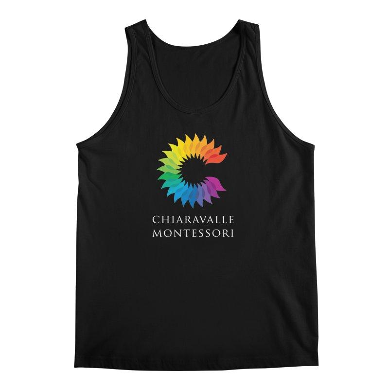 Chiaravalle Montessori - Dark Men's Tank by Chiaravalle Montessori Spirit Shop