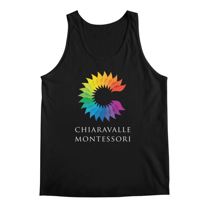 Chiaravalle Montessori - Dark Men's Tank by Chiaravalle Montessori Spirit Shop