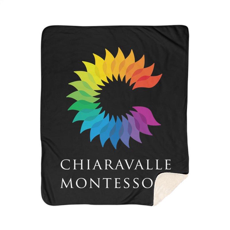 Chiaravalle Montessori - Dark Home Sherpa Blanket Blanket by Chiaravalle Montessori Spirit Shop