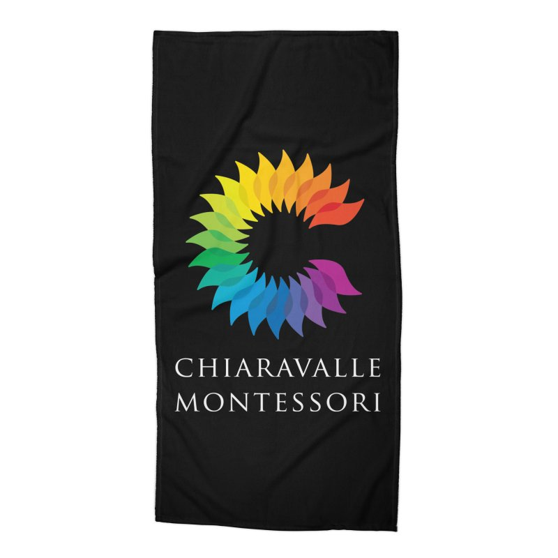 Chiaravalle Montessori - Dark Accessories Beach Towel by Chiaravalle Montessori Spirit Shop