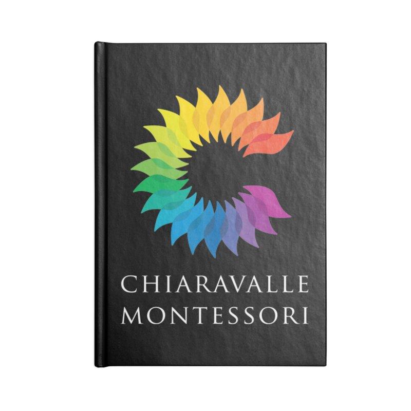 Chiaravalle Montessori - Dark in Lined Journal Notebook by Chiaravalle Montessori Spirit Shop