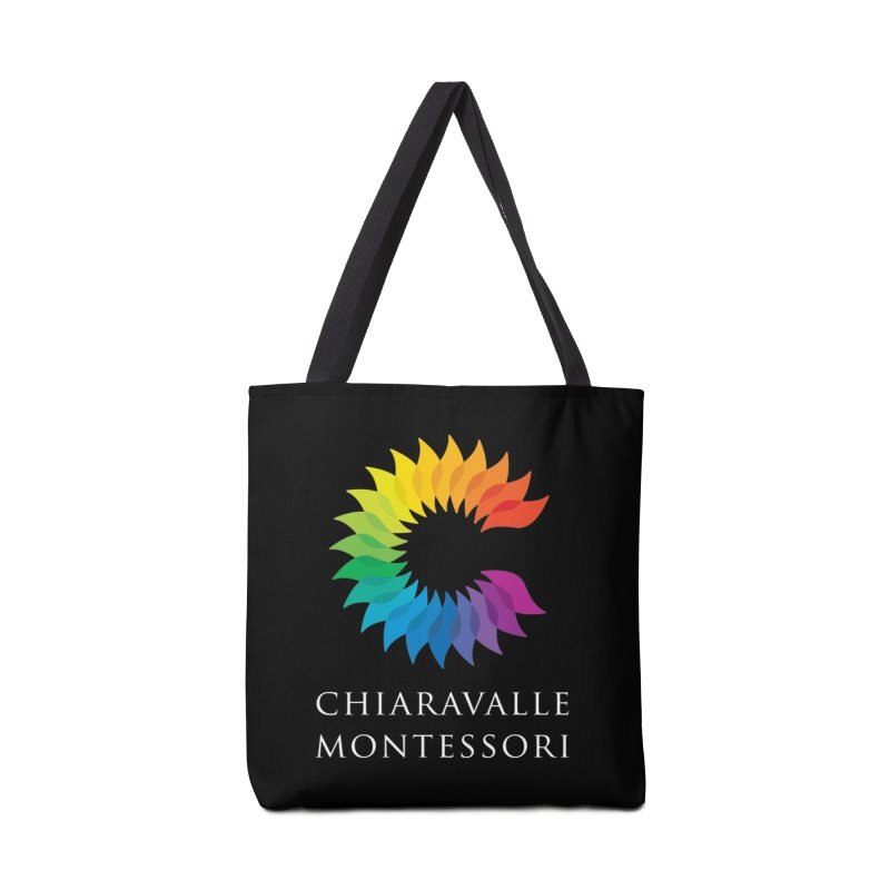 Chiaravalle Montessori - Dark Accessories Tote Bag Bag by Chiaravalle Montessori Spirit Shop