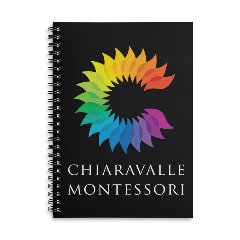 Chiaravalle Montessori - Dark Accessories Lined Spiral Notebook by Chiaravalle Montessori Spirit Shop