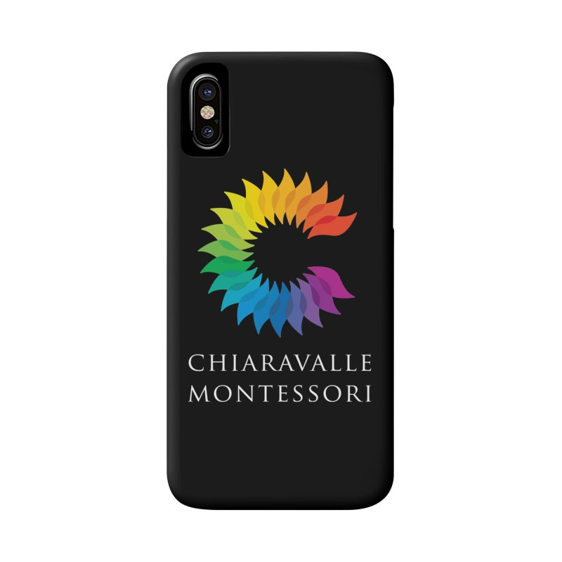 Chiaravalle Montessori - Dark Accessories Phone Case by Chiaravalle Montessori Spirit Shop