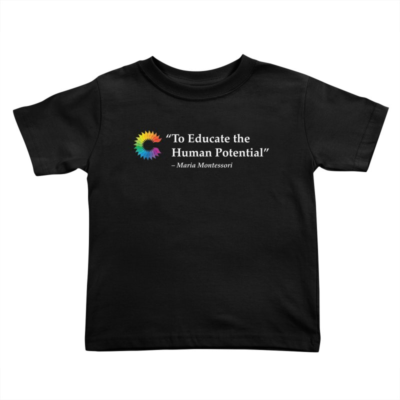 Maria Montessori Kids Toddler T-Shirt by Chiaravalle Montessori Spirit Shop