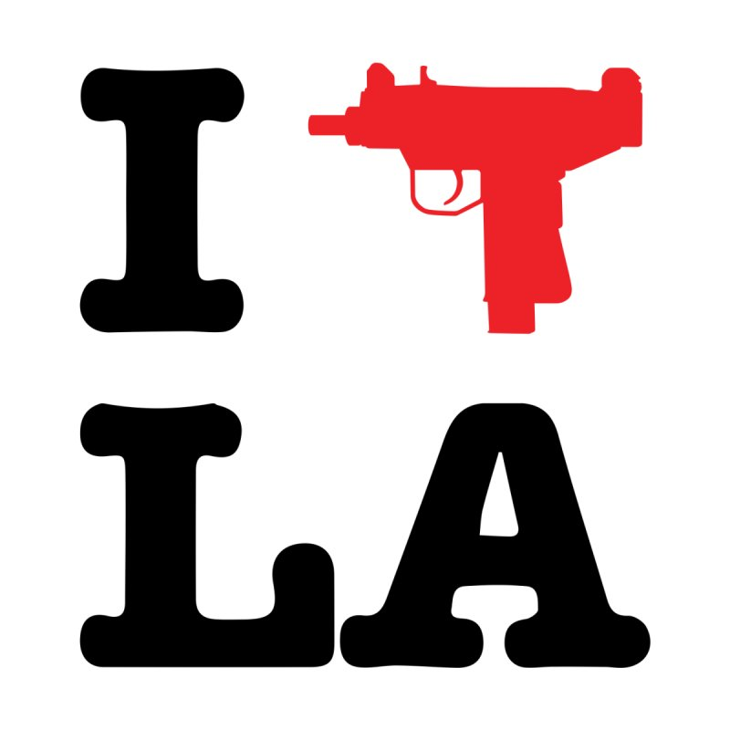 I Uzi LA by chibrodesign's Shop