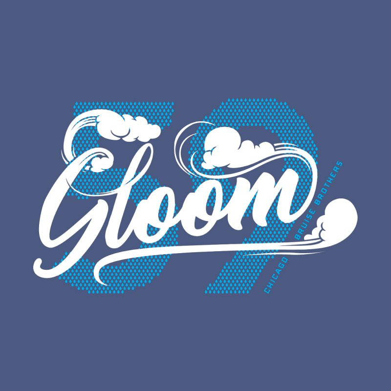 Skater Series: Gloom Men's Sweatshirt by Chicago Bruise Brothers Roller Derby