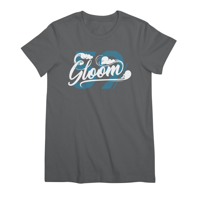 Skater Series: Gloom Women's Premium T-Shirt by Chicago Bruise Brothers Roller Derby