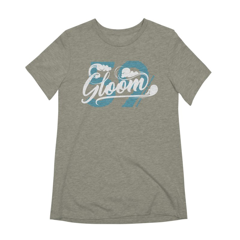 Skater Series: Gloom Women's Extra Soft T-Shirt by Chicago Bruise Brothers Roller Derby